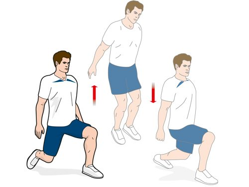 What exercise can jump higher one